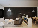 波兰黑白简约风公寓 自然、舒适