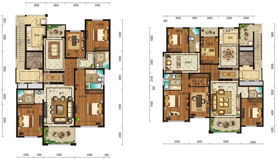 免费农村别墅户型设计图展示