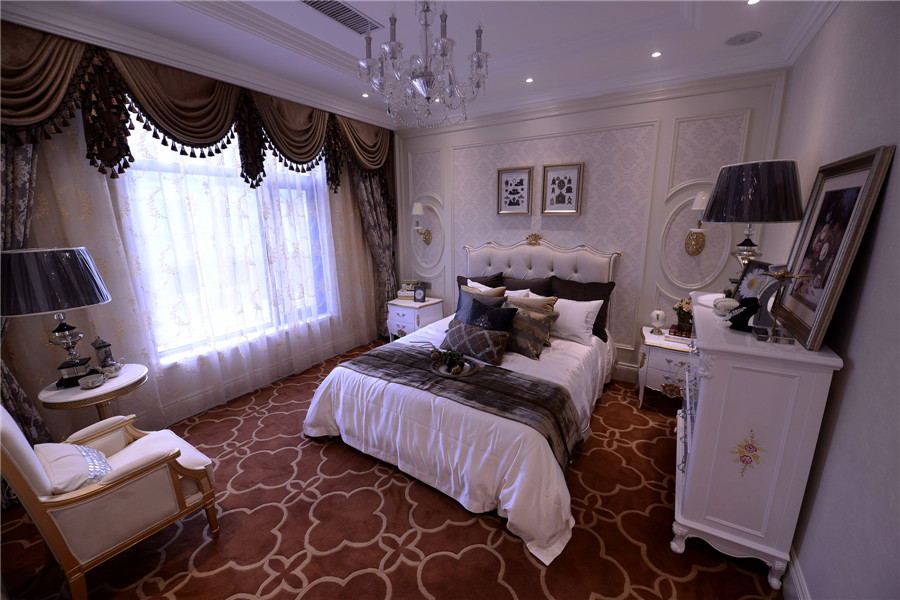 法式样板间 卧室2