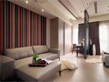 小户型大空间 50平现代感公寓设计