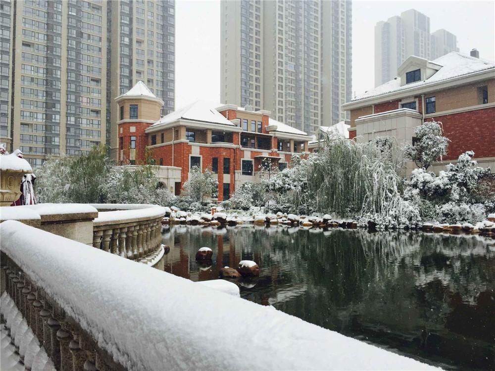 君河湾雪景