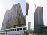 建业华阳峰渡5月项目进度:一砖一瓦间 力鉴精工匠品
