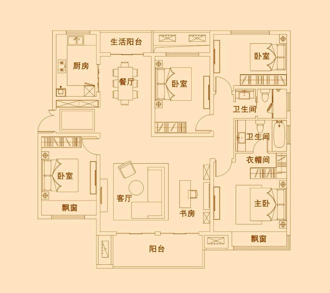 D3【建业尊府四】D3