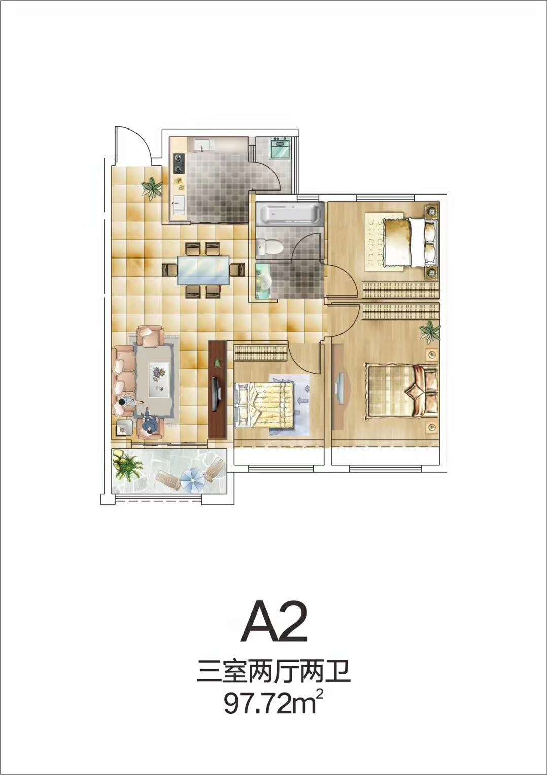 A2【蓝湾印象三】A2
