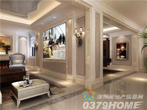 户型设计采用大尺度,大开间,大窗户,大层高设计,大堂视野敞亮,空间