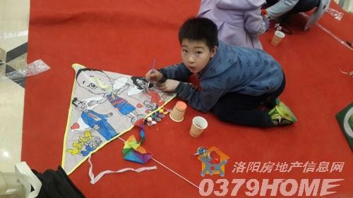 和昌中央城邦感恩三八节 创意风筝手绘活动温馨开启