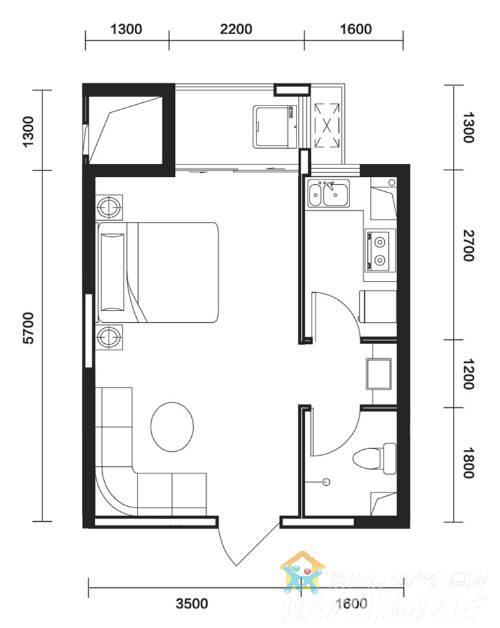 高清大图 80平方房子设计图 平面图下载 农村房屋设计图90平米三层图片
